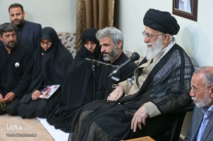 Leader Meets Family of Martyr Hojaji